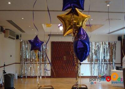 Balloon Decoration Service Birthdays| Partymoods Events24