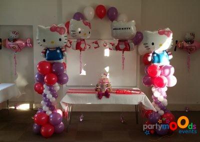 Balloon Decoration Service Hello Kitty | Partymoods Events1