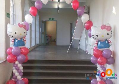 Balloon Decoration Service Hello Kitty | Partymoods Events10