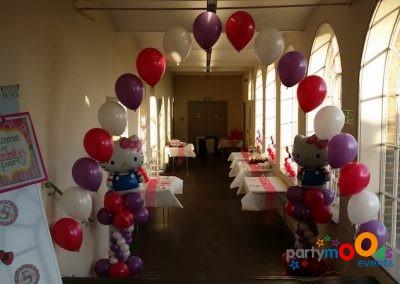 Balloon Decoration Service Hello Kitty | Partymoods Events12