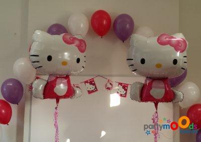 Balloon Decoration Service Hello Kitty | Partymoods Events3