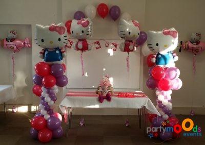Balloon Decoration Service Hello Kitty | Partymoods Events4