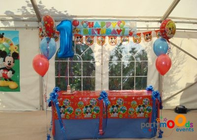 Balloon Decoration Service Mickey Mouse Party | Partymoods Events15