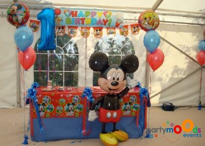 Balloon Decoration Service Mickey Mouse Party | Partymoods Events23