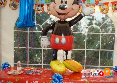 Balloon Decoration Service Mickey Mouse Party | Partymoods Events24