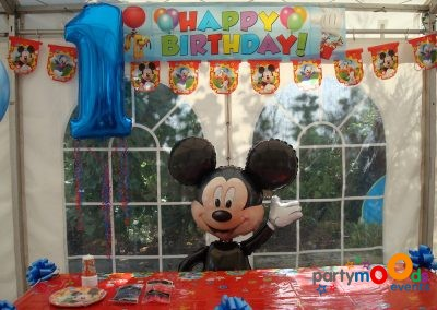 Balloon Decoration Service Mickey Mouse Party | Partymoods Events27