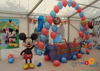 Balloon Decoration Service Mickey Mouse Party | Partymoods Events36