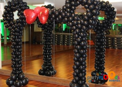 Balloon Decoration Service Balloon Arches | Partymoods Events