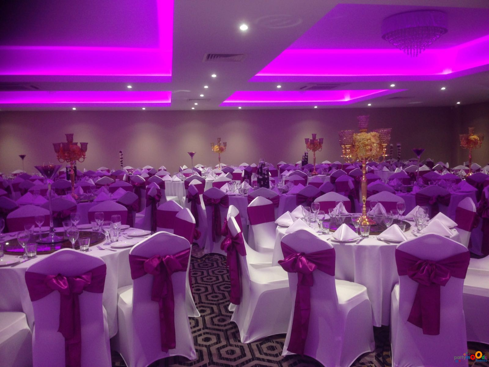 Chair Covers & Backdrops Partymoods Events