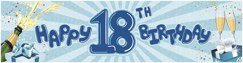 18th Birthday-blue